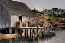 Fishing Shack von Susan Isakson