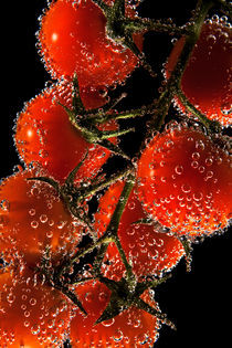 Tomatoes bubbles von Boris Frantz