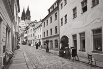 Meißen - Burgstraße von Peter Zimolong