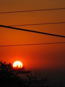 Sunset von Ana Cristina Valencia