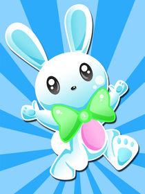 Joyous Bunny  by Daphne Robinson