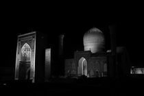 Samarkand Mosque  von Mikael Sacchi