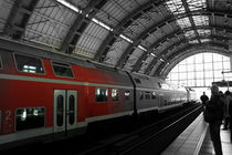 Berlin train station by Betul Eglenoglu