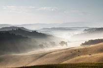 Tuscany - Foggy von Alex Fechner