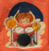 Drum girl by nykka