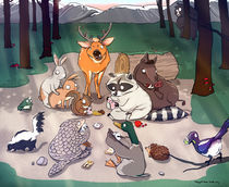 Wild animals von Fangchi Gato