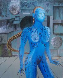 Deep Blue Mystique by Eddie Müller