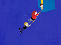 Hang on there, guys by Alejandra Ramirez