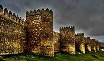 Avila - Town Walls von Juergen Weiss