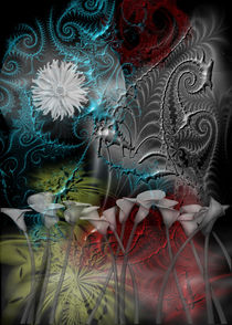 Floral Fractal by regalrebeldesigns