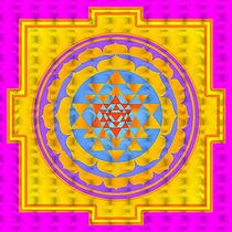 Sri Yantra von regalrebeldesigns