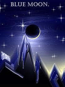 Blue Moon. by Bernd Vagt