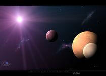 Gliese 581 solar system by julia-r