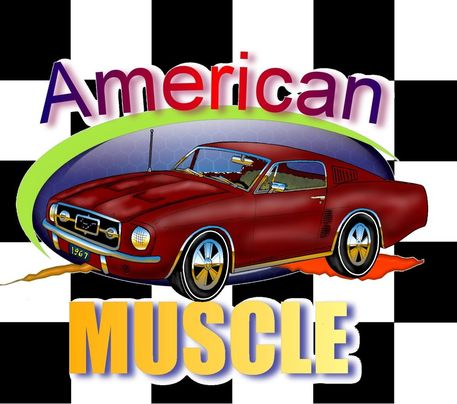 American-muscle-car
