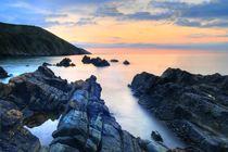 Putsborough beach sunset, North Devon von Luke Eagle