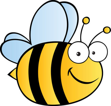 Cute Cartoon Bee Drawing Art Prints And Posters By Hittoon