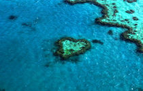 Heart Reef by rhfineartphotography