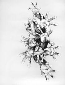 hands by Inna Monastyrna