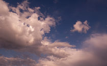 summer sky and clouds by Marcel Velký