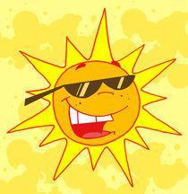 Cartoon Hot Sun von hittoon