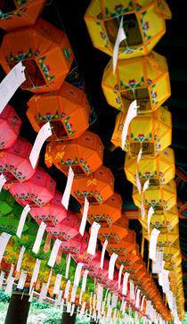 Wish Lanterns by Melissa Delteil