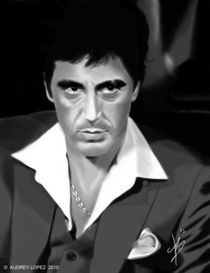 """Al Pacino in """"Scarface"""" by audrey lopez"""