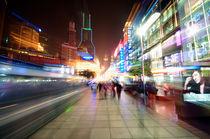 Shanghai City in Motion von pixinity