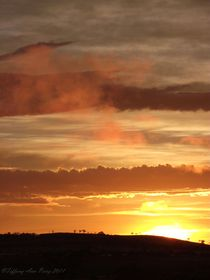Layered-sunset