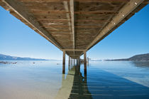 Under the Pier at Lake Tahoe vacation resort  by pixinity