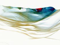 colored waves no1 by Horst Hammerschmidt