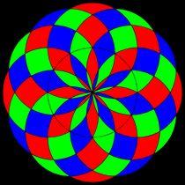13 circles rgb fill by Chandler Klebs