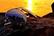 Sunshade Sunset by Bradley Sheaks