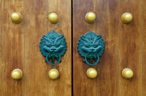 Dragon Gate Door Handle  by pixinity
