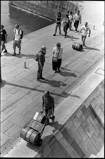 Harbor scene. Oporto, 2011. von Maria Luros