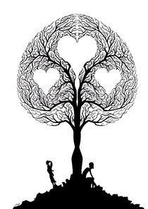 'Tree of love' von Luis Pastor