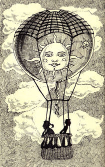 'Love air baloon' von Luis Pastor