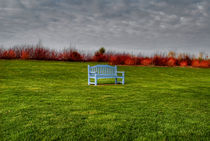 Blue Bench von Marco Moroni