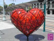San Francisco's Heart1 by Verna Jiu