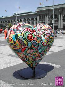 San Francisco's Heart2 by Verna Jiu