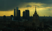 Moscow City by Nevena Urosevic