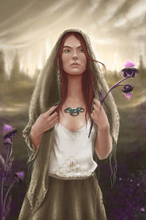 Aviendha by Ashley Luttrell