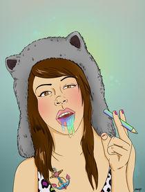 Bad Teddy Bear von Malgorzata Dumin