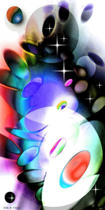 Colorful game two. von Bernd Vagt