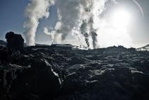 Icelandic Power Station von Craig Thomas