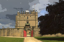 Bolsover Castle on a Stormy Afternoon von Louise Heusinkveld