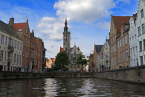 Brugge Canals by Louise Heusinkveld