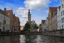 Brugge Canals von Louise Heusinkveld