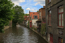 Brugge Canal, Belgium by Louise Heusinkveld