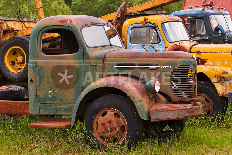 Rusty Old Trucks\