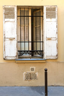 Open Window of a Parisian Apartment by Louise Heusinkveld